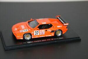 De tomaso pantera 200 N°37 Le Mans 1994 spark 1/43