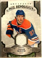2019-20 Connor Mcdavid Upper Deck Artifacts NHL Remnants #NR-CM Oilers Jersey