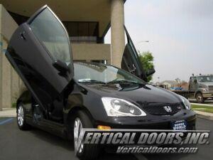 Vertical Doors - Vertical Lambo Door Kit For Honda Civic Si 2002-05 -VDCHCSI0205