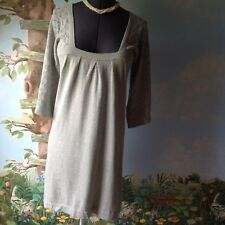 c19706bc19c Banana Republic Women s Gray Knit Sweater Dress 3 4 Sleeve Size Medium