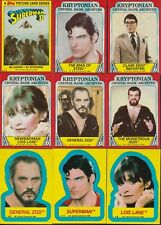 1980 SUPERMAN 2 COMPLETE BASIC TRADING CARD SET W/ STICKERS