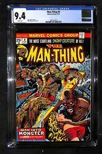 MAN-THING # 8 CGC 9.4 - Man Into Monster -  Bronze Age Marvel Comics