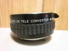 Sears Auto 2x Tele Converter 4E/MC Camera Lens