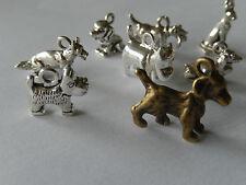 Dog-opoly, monopoly beagle-opoly 7 dog breed charms 4 Monopoly bonus bronze dog