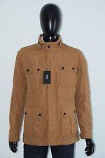 Hugo Boss Jacke mit Kapuze Mod. Cavid1 Gr. 50 Medium beige