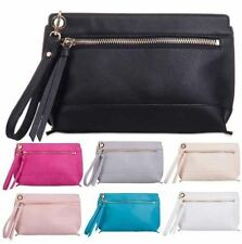 Faux Leather Clutch Handbags