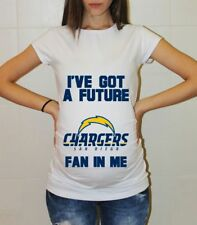 San Diego Chargers Baby Shower Football Mom to be Maternity Tee Pregnancy Shirt