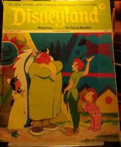 Vintage Disneyland Magazine  No.55 Feb 27 1973 Peter Pan