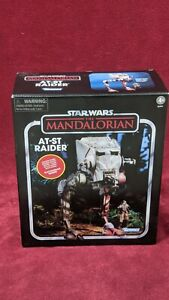 Star Wars Vintage Collection Mandalorian AT-ST w/ Klatooinian Raider Kenner