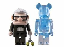 MEDICOM KUBRICK DISNEY UP BEARBRICK CARL 2PC FIGURE BOX LIMITED SET RARE NEW TL