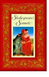 Shakespeares Sonnets Like NEW Hard Back 1992 MarlboroBooksDiv. of Barnes & Noble