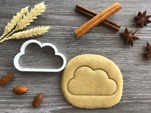 Cloud Cookie Cutter 08 | Fondant Cake Decorating | UK Seller
