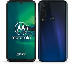 Motorola Moto G8 Plus - 64GB - Cosmic Blue (Ohne Simlock) (Dual-SIM)