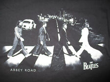 Beatles Paul McCartney John Lennon George Ringo Starr Abbey Road (Lg) T-Shirt