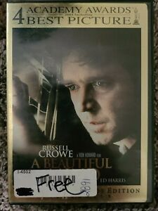 A Beautiful Mind (Two-Disc Awards Edition) - DVD - VERY GOOD