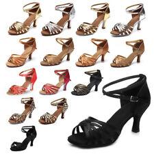 Brand New Women's Ballroom Latin Tango Dance Shoes heeled Salsa 15 Style Hot