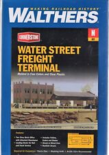 N Scale Walthers Cornerstone 933-3201 Water Street Freight Terminal Building Kit