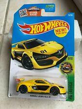 Hot Wheels 2016 #072//250 Lotus Esprit S1 jaune HW Exotics Case K