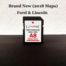 NEW A8 2018 MAP UPDATE Navigation SD CARD SYNC FITS ALL FORD, LINCOLN UPDATES A7