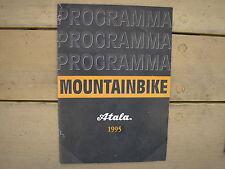 ATALA PROGRAMMA 1995 MTB CATALOGO PRODUZIONE MOUNTAIN BIKE BIRD HAWK ACCESSORI