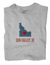 Sun Valley Idaho ID T-Shirt HEART