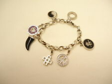 F55856 Thomas Sabo Bettelarmband mit 6 Charms Beats 925/- Sterlingsilber