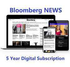 Bloomberg News 5-Year Digital Subscription All Platforms Worldwide Free Region