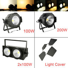 100W/200W Warm Cool White Cob Led Par Light for Dj Club Stage Audience Lighting