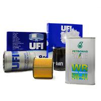 Kit tagliando ALFA ROMEO 147 GT 1.9 JTD JTDM 5l di SELENIA WR 5W40 4 filtri UFI