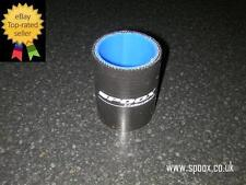 Spoox Motorsport Silicone Boost Hose Joiner (BLACK) **Reduced To Clear**