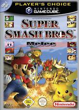 Nintendo Gamecube Spiel Super Smash Bros. Melee GUT