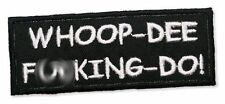 "U.S. COLONIAL MARINES ""Whoop-Dee F**king Doo"" Embroidered Patch - ALIEN / ALIENS"