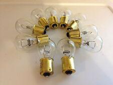 10x Ford 1073 12v Stock Reverse Corner Light Turn Signal Bulbs Lamp NOS Quality