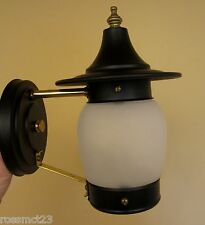 Vintage Lighting never used Mid Century porch sconce