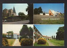 SAINT-VARENT (79) PISCINE SOLAIRE , MAISON de RETRAITE & EGLISE en 1986