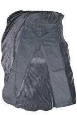 $395 John Varvatos Men's 33W 34L Black Jeans Slim Fit Stretch Denim Pants