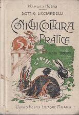 Coniglicoltura pratica. Manuali Hoepli.