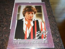 1983 Barry Manilow calender