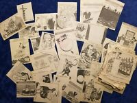 Vintage Nixon/Watergate-Era/Oil Embargo Scrapbook 300+ Editorial Cartoons