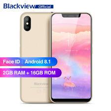 Débloqué 5.5'' Blackview A30 Téléphone 3G Mobile 2Go+16Go Face ID Android 8.1 FR