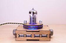 Steampunk USB 2.0 Hub Pentode Radio - Steampunk / Industrial Style - School gift