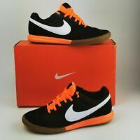 ~ Nike Premier Sala Indoor Football Trainer ~ Black / Orange ~ UK 8.5 / EU 43 ~