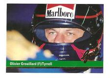F1 Card - Olivier Grouillard - Tyrrell - Formula 1 Racing