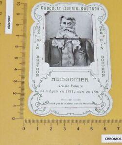 RARE CHROMO SYSTEME TIRETTE GUERIN-BOUTRON 1898 PEINTURE PEINTRE MEISSONNIER
