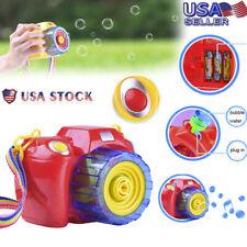 Children Music Camera Bubble machine Toys Bubble Blower Machine Toy For Kids USA