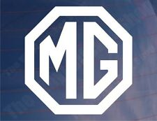 MG Logo Vinyl Classic Car/Bumper/Window Sticker/Decal - Ideal for ZR/ZT/TF/MGB