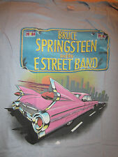 Vintage BRUCE SPRINGSTEEN Concert Shirt 1984 Size Medium Born In The USA Tour