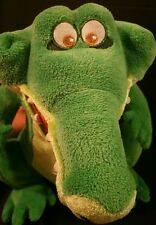 Disney Store Crocodile Tick Tock Alligator Peter Pan Plush Green