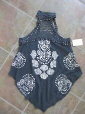 Free People Mandolin Crochet High Neck Tank Top from Buckle / Small / BNWT