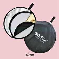 Godox 60cm Round Shape 5in1 Studio Photo Disc Collapsible Light Reflector
